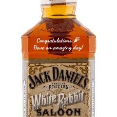 Personalised Jack Daniels White Rabbit