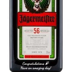 Personalised Jagermeister Herbal Liqueur