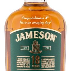 Personalised Jameson 18 Year Old