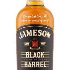 Personalised Jameson Black Barrel