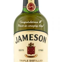 Personalised Jameson Blended Irish Whiskey