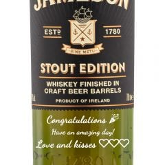 Personalised Jameson Caskmates Stout Edition