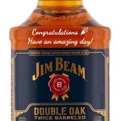 Personalised Jim Beam Double Oak