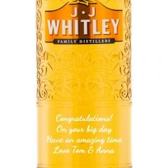 Personalised JJ Whitley Blood Orange Gin