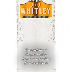 Personalised JJ Whitley London Dry Gin