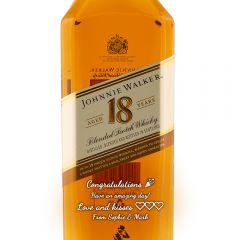 Personalised Johnnie Walker 18 Year Old