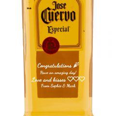 Personalised Jose Cuervo Especial Gold
