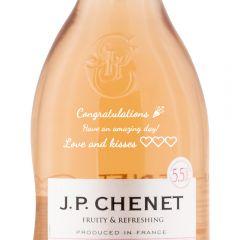 Personalised JP Chenet Sparkling Rose