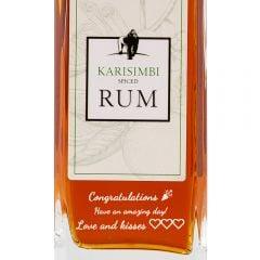 Personalised Karisimbi Spiced Rum