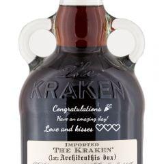 Personalised Kraken Black Spiced Rum