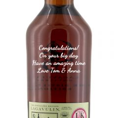 Personalised Lagavulin Distillers Edition