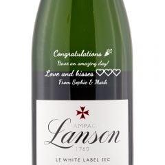 Personalised Lanson Le White Label