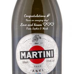 Personalised Martini Prosecco