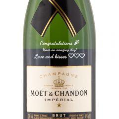 Personalised Moet & Chandon Brut Imperial Half Bottle 37.5cl