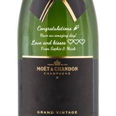 Personalised Moet & Chandon Grand Vintage