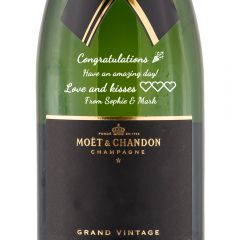 Personalised Moet & Chandon Grand Vintage Magnum 150cl