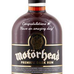 Personalised Motorhead Rum