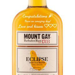 Personalised Mount Gay Eclipse Rum