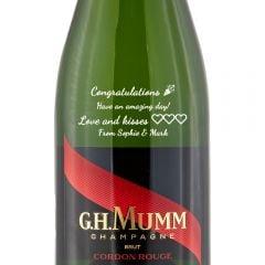Personalised Mumm Cordon Rouge