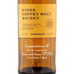 Personalised Nikka Coffey Malt Whisky