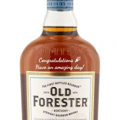 Personalised Old Forester Kentucky Bourbon