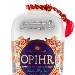 Personalised Opihr Oriental Spiced Gin