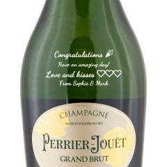 Personalised Perrier Jouet Grand Brut