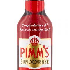 Personalised Pimms Sundowner
