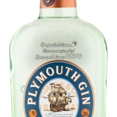 Personalised Plymouth Gin