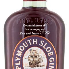 Personalised Plymouth Sloe Gin