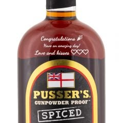 Personalised Pussers Gunpowder Proof Spiced
