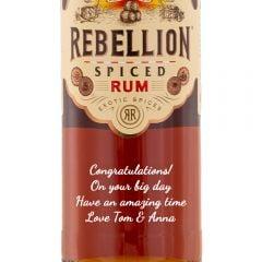 Personalised Rebellion Spiced Rum