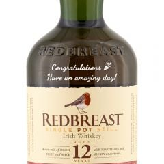 Personalised Redbreast 12 Year Old
