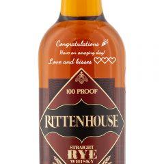 Personalised Rittenhouse Rye Whiskey