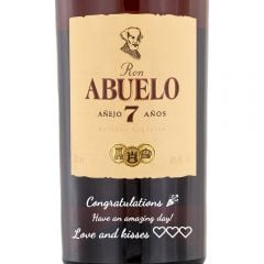 Personalised Ron Abuelo 7 Year Old Anejo