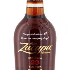 Personalised Ron Zacapa Centenario Sistema Solera 23