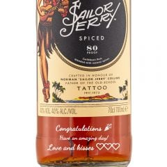 Personalised Sailor Jerry Spiced Rum