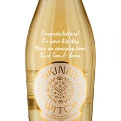 Personalised Skinny Witch DOCG Prosecco