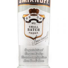 Personalised Smirnoff Black Label Vodka
