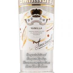 Personalised Smirnoff Vanilla Vodka