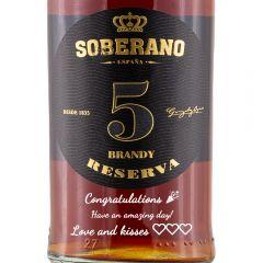 Personalised Soberano Reserva 5