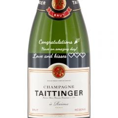 Personalised Taittinger Brut Reserve NV 37.5cl Half Bottle