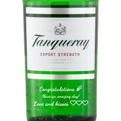 Personalised Tanqueray Export Strength Gin