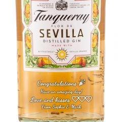 Personalised Tanqueray Flor de Sevilla Gin