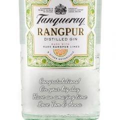 Personalised Tanqueray Rangpur Gin