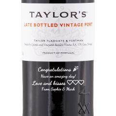 Personalised Taylor's Late Bottled Vintage Port