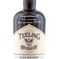Personalised Teeling Small Batch Whiskey