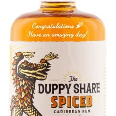 Personalised The Duppy Share Spiced Rum