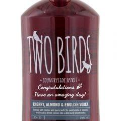 Personalised Two Birds Cherry Almond Vodka