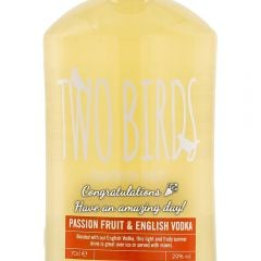 Personalised Two Birds Passionfruit & English Vodka
